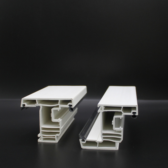 Pvc Extrusion Plastic Profiles For Windows And Doors