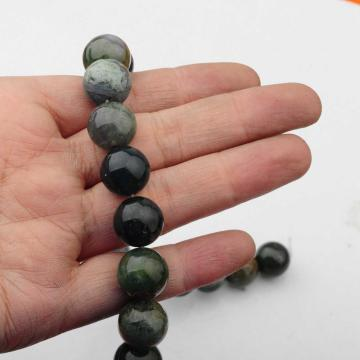 14MM Loose natural Aquatic Agate Round Beads for Making jewelry