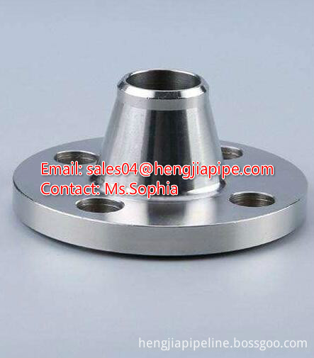 Material ASTM A105 weld neck flange