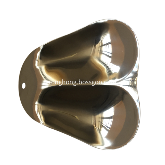 Stainless Steel Spoon Rest Double Spoon 1