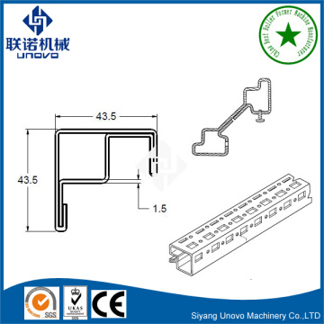 PS 9 fold rack roll forming machine