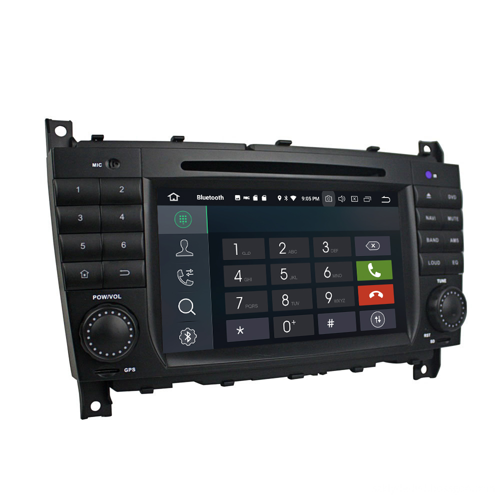 car dvd for C-Class W203