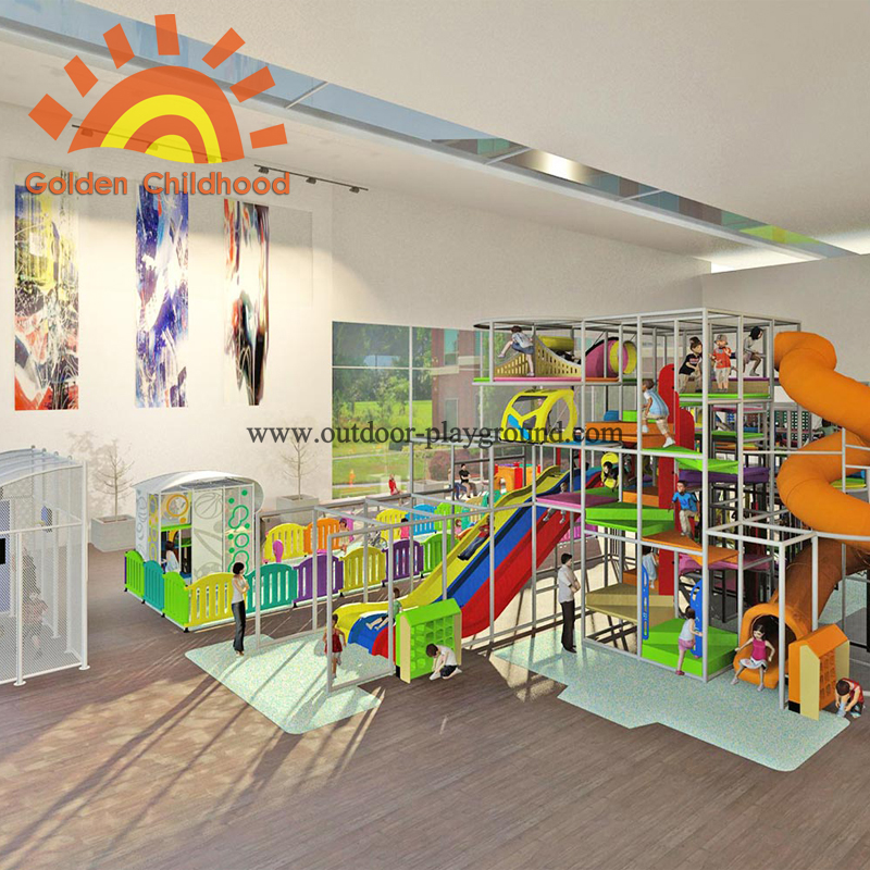 Competitive Price Amusement Large Kids Play Structure Games