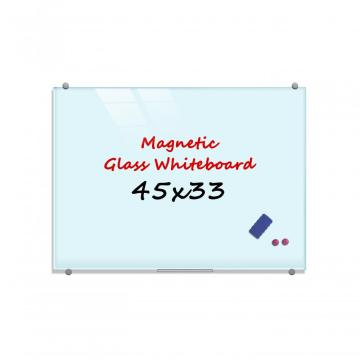 Tempering magnetic glass board for classroom