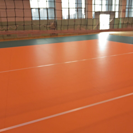 Indoor Volleyball Sports Flooring For Volleyball Court Used