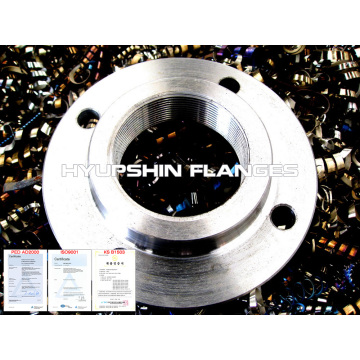 Threaded Flange Flat Face