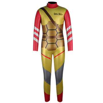 Seaskin 3mm Back Zip Kids Cartoon Wetsuit