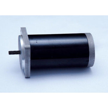 55ZYT brushed dc motor/ copper windings 55mm permanent magnet dc motors sealed ball bearings