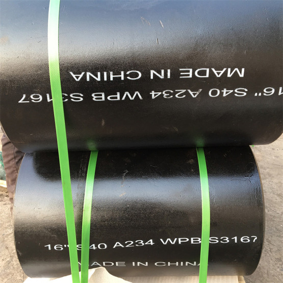 Carbon Steel Seamless ButtWeld Reducing Pipe Tee
