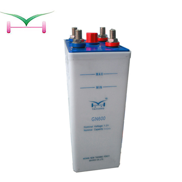48v 110v 600ah low discharge rate nicd battery