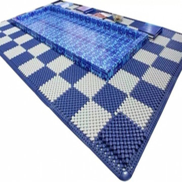 Hotel Wet Area Mat Swimming Pool Flooring