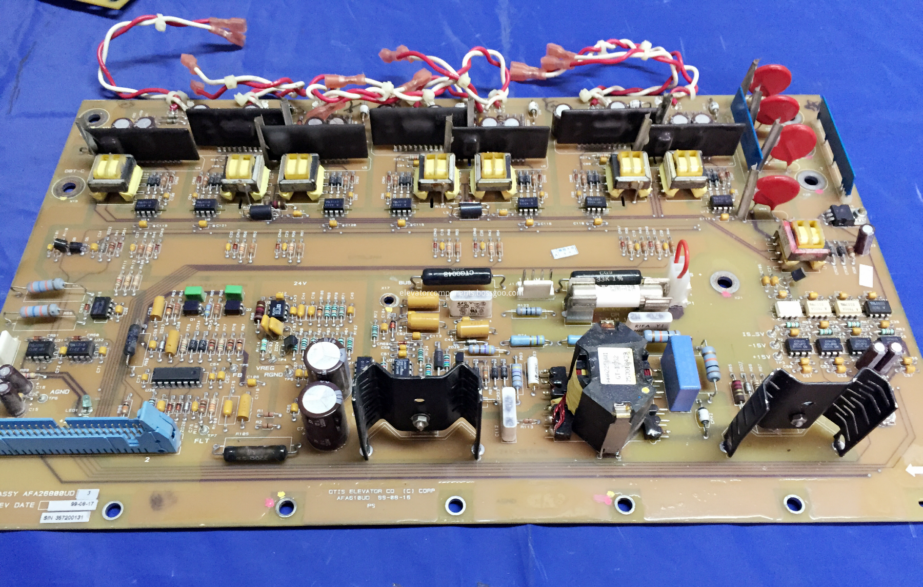 OVF30 Inverter Driver Board for OTIS Elevators AGA26800UD2