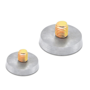 M14 Neodymium Threaded Bushing Magnets With Thread Rods