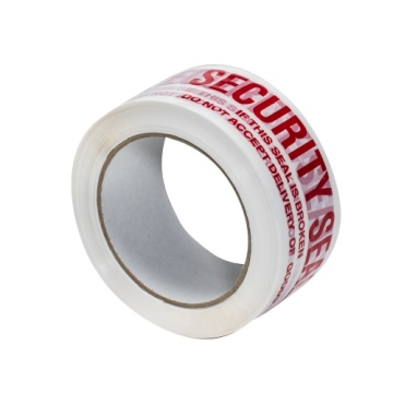 custom white packing tape roll with logo
