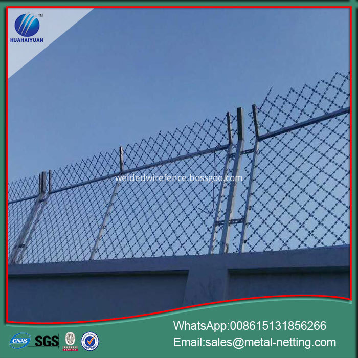 Welded Razor Blade Wire