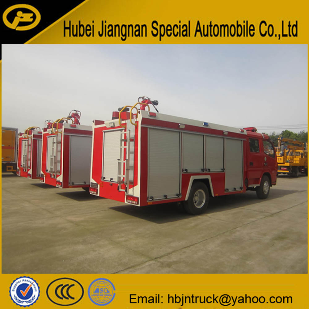 pump fire fighting truck
