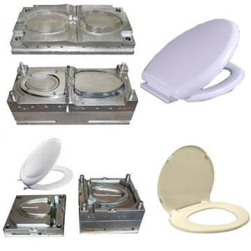 Plastic Toilet Seat Pad Cover Injection Moulds