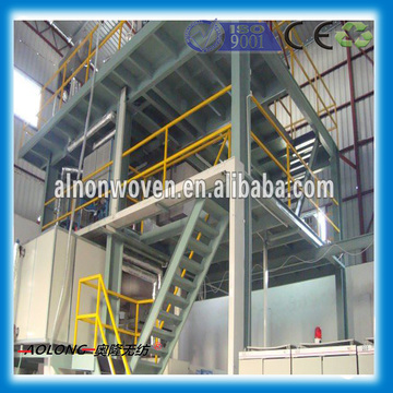 1.6M Single Beam PP Spunbond fabric production Line Fabric GSM 9~250