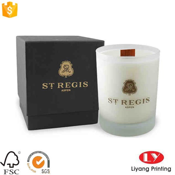Luxury Custom Paper Candle Packaging Gift Box