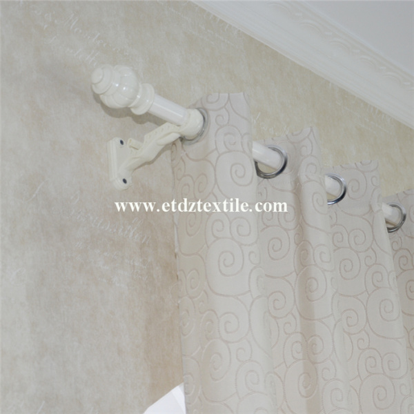 2016 Morden Polyester Soft Texile Shrinkage Window Curtain
