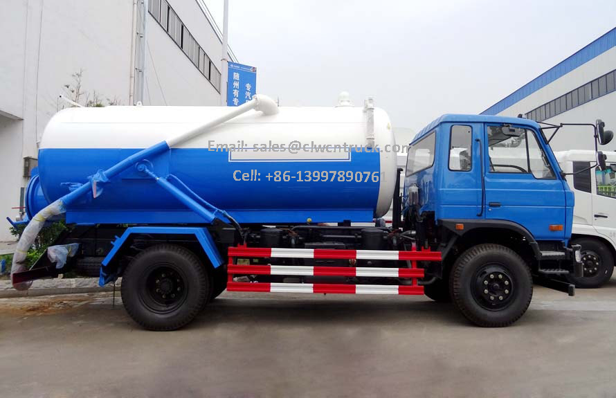 Dongfeng Sewage Truck Cost