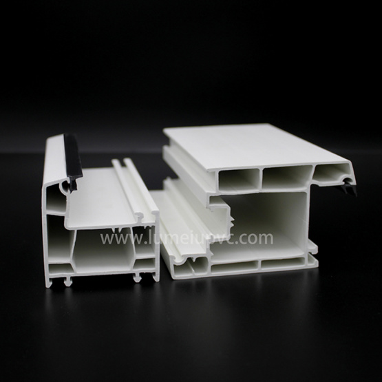Europe Stype UPVC Window Extrusion Profiles