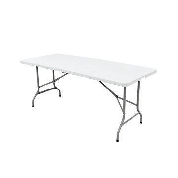 6FT Lightweight 1.8M Metal Plastic Dining Table