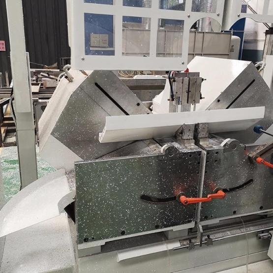 Double Heads Cutting Saw For PVC Profiles