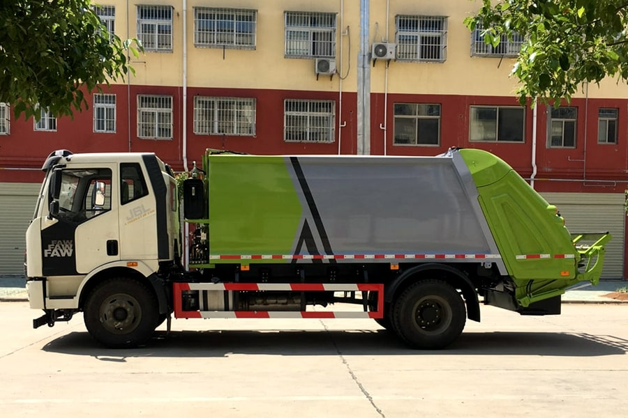Waste Industries Truck Price