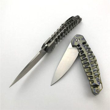 Outdoor Camping Folding Fish Pocket Knife