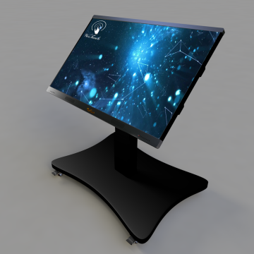 75 inches interactive PC with Automatic stand