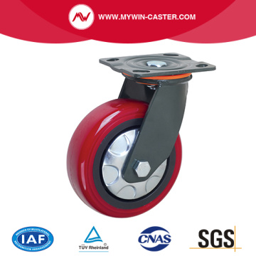Russet Color PU Wheel Swivel Heavy Duty Caster