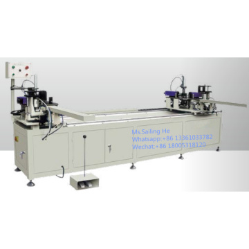 Aluminum Double-head Synchronous Corner Combining Machine