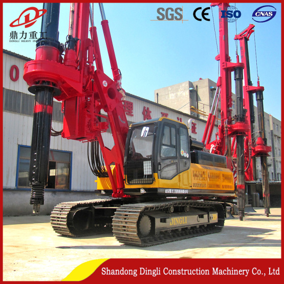 deep construction foundation pile drilling rig
