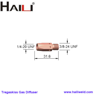 Tregaskiss Gas Diffuser 404 FOR T30 T40 T50
