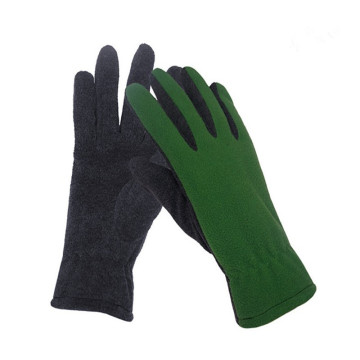 Autumn Winter Season Fashion Ladies' Fleece Gloves