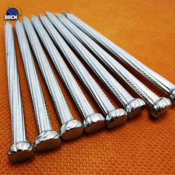 Sliver White galvanized concrete steel nail