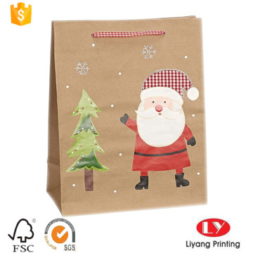 Brown Kraft Paper gift Bag for Christmas