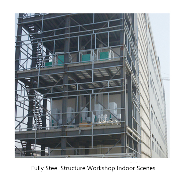 Fully Steel Structure Workshop Indoor Scenes 2