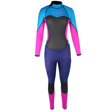 Seaskin Womens Back Zip Neoprene Surfing Wetsuits