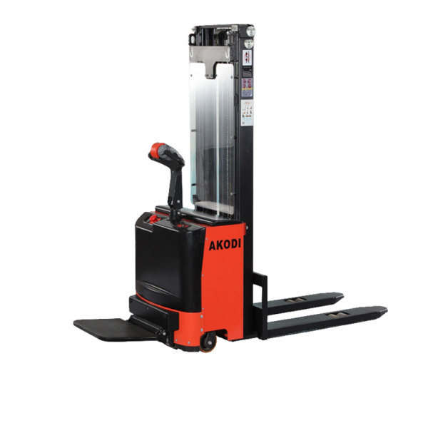 Straddle Heavy Duty Electric Stacker