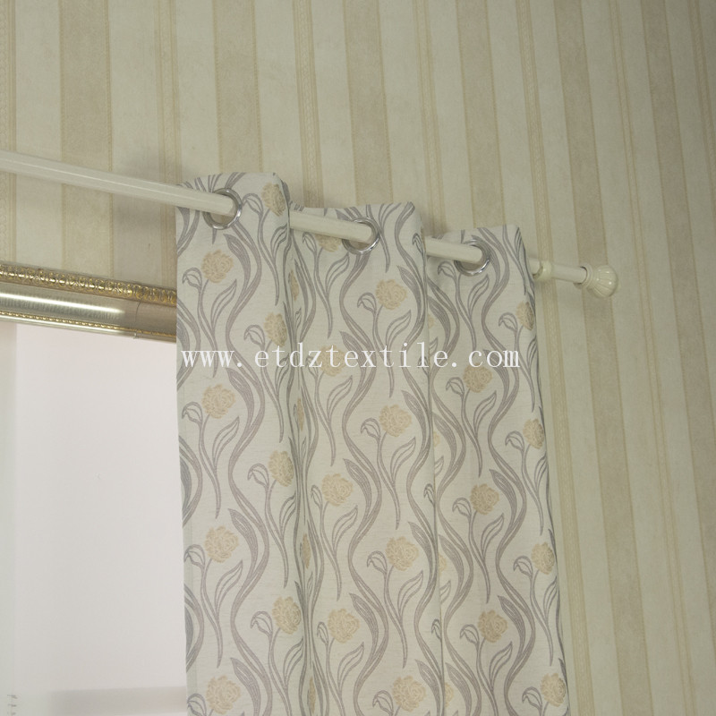 Typical Flower deigsn curtain FR2058