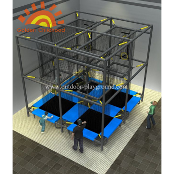 Design Aeroball Trampoline Playground For Kids