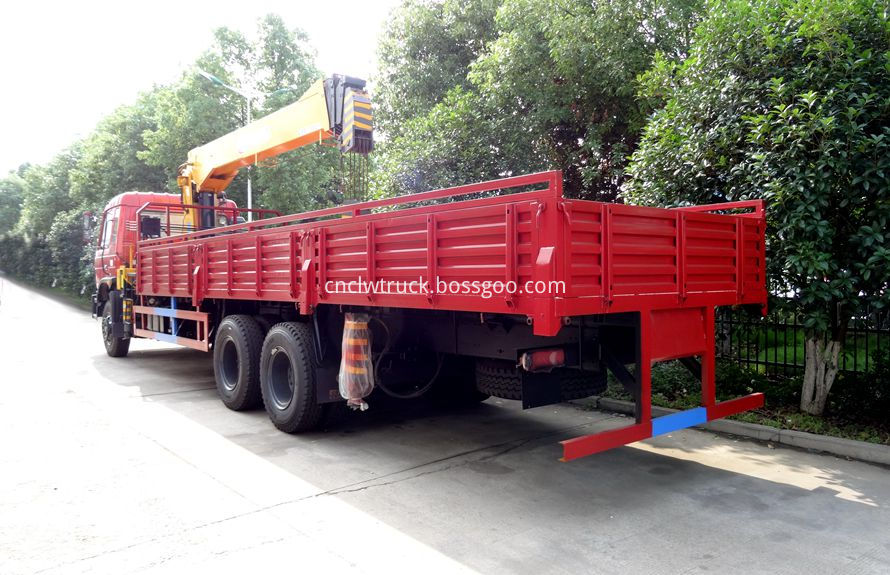 commercial truck mounted crane 4