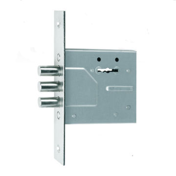 SR500 50mm Russia security door lock with roundbolt