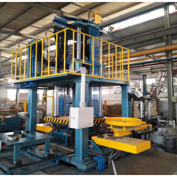 Low tension casting machine