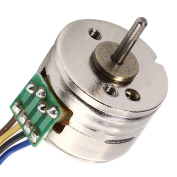 Gear Step Motor, PM Geared Stepper Motor for Robot, 5V 15mm Stepper Motor Customizable