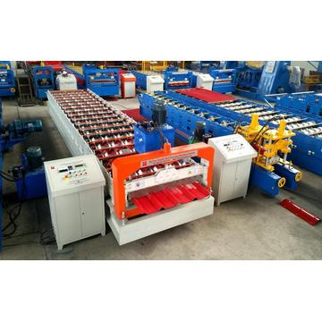 Supply sheet metal cold roll forming machine