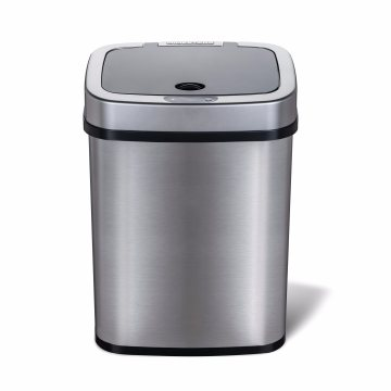 12L Infrared Stainless Steel Sensor Waste Basket