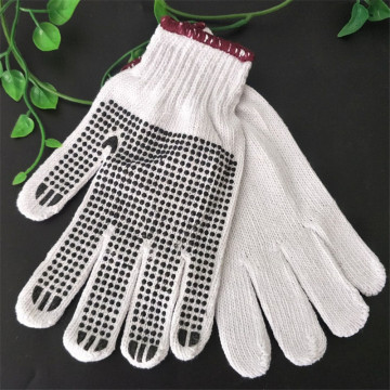String Knit Cotton Gloves Safety Working Glove